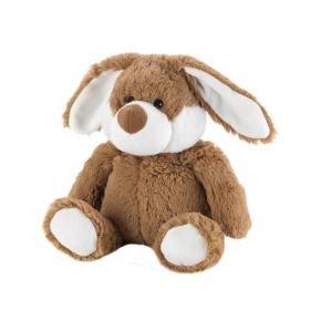Пинкл (Pinkl) | Игрушка-грелка Коричневый Кролик | Intelex Ltd Warmies Cozy Plush Brown Bunny | Подарки