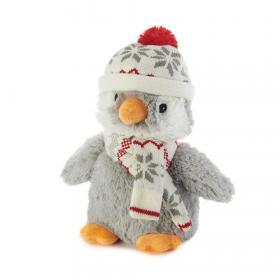 Пинкл (Pinkl) | Игрушка-грелка Пингвин в шапочке | Intelex Ltd Warmies Cozy Plush Penguin Hat | Подарки