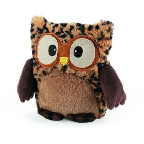 Пинкл (Pinkl)   Совенок-грелка Леопардовый   Intelex Ltd Warmies Hooty Hooty Tawny   Подарки