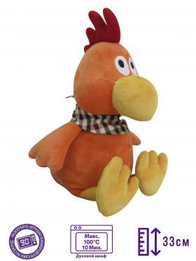 Пинкл (Pinkl) | Игрушка-грелка Петух | Intelex Warmies 2017 New Year Toy Simbol Cock | Подарки